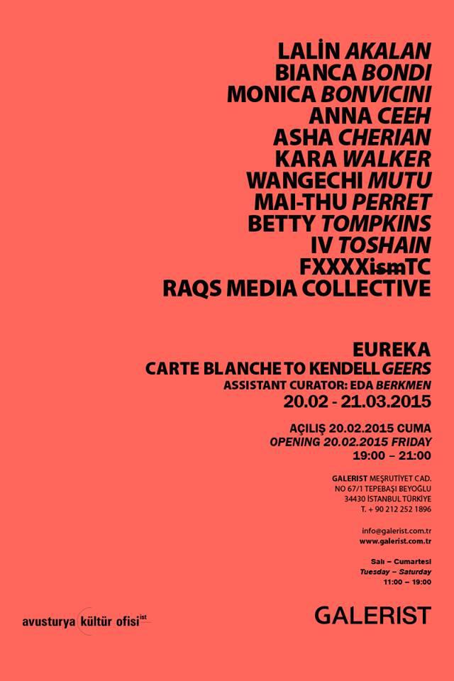 EUREKA / carte blanche